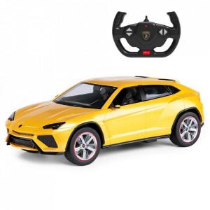 Masina Cu Telecomanda Lamborghini Urus Galben Cu Scara 1 La 14