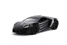 Masinuta Metalica Black Panther Lykan Hypersport Scara 1 La 32