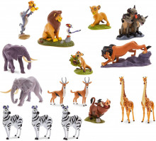 Mega Set 19 Figurine Deluxe The Lion King