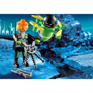 Playmobil Agent Cu Drona