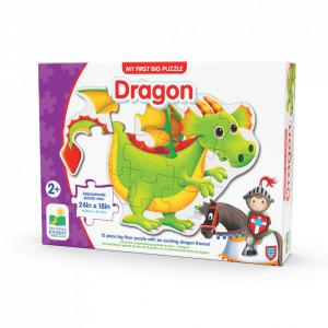 Primul Meu Puzzle De Podea - Dragon