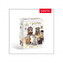 Puzzle 3D Harry Potter 4In1 - Aleea Diagon 273 Piese