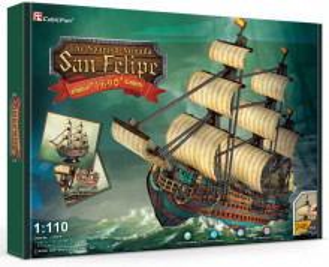 Puzzle 3D Nava San Felipe 248 Piese