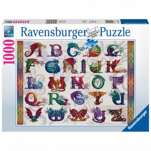 Puzzle Alfabet Dragon, 1000 Piese