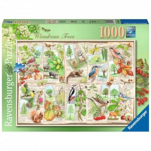 Puzzle Copaci Magnifici, 1000 Piese