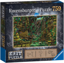 Puzzle Exit 2: Templul Ankor, 759 Piese
