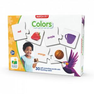 Puzzle Potriveste Culorile - Eng