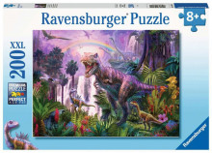 Puzzle Taramul Dinozaurilor, 200 Piese