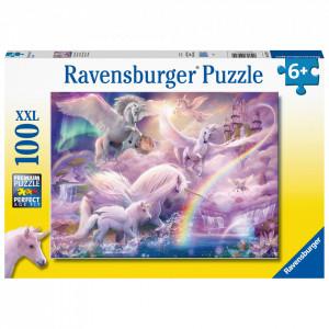 Puzzle Unicorni, 100 Piese