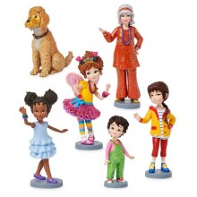 Set 6 Figurine Fancy Nancy Clancy