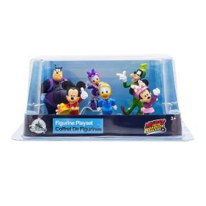 Set 6 figurine Mickey si pilotii de curse - model 2018