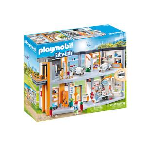 Set de joaca Playmobil City Life, Spital Mare Echipat