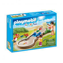 Set de joaca Playmobil Family Fun, Mini Golf