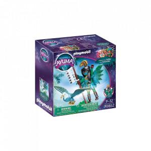 Set de joaca Playmobil Knight Fairy Cu Animalul De Suflet