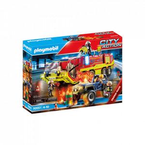 Set de joaca Playmobil Masina Si Camion De Pompieri