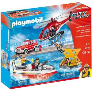 Set de joaca Playmobil, Misiunea De Salvare A Pompierilor