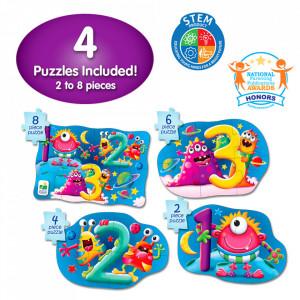 Set Primele Mele 4 Puzzle-Uri 123