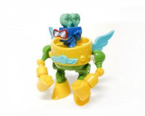 Superzings 3 Superbot Iron Punch Verde