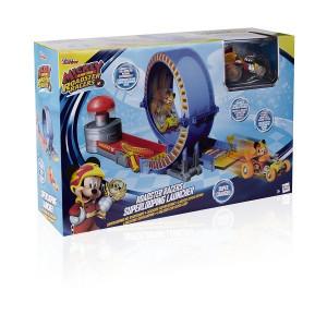 Super Lansator Mickey si pilotii de curse
