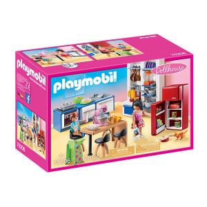 Set de joaca Playmobil Dollhouse, Bucataria Familiei