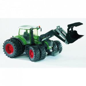 Bruder - Tractor Fendt 936 Vario Cu Incarcator Frontal