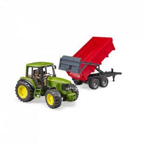Bruder - Tractor John Deere 6920 Cu Remorca Basculabila