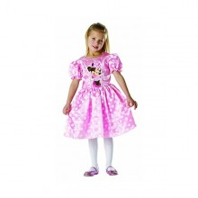 Costum clasic Minnie Mouse Roz (Marime S)