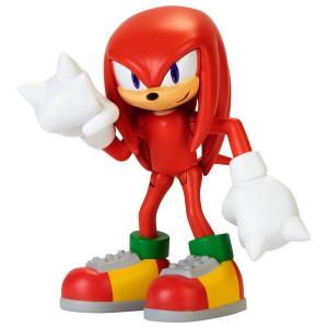 Figurina Articulata Sonic The Hedgehog 6cm, model Kunckles