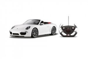 Masina Cu Telecomanda Porsche Carrera S Alb Cu Scara 1 La 12