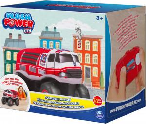 Masina Radiocomandata De Pompieri Din Plus Cu 2 Functiuni