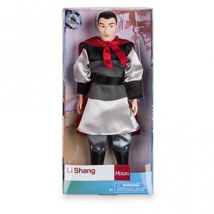Papusa Printul Li Shang din Mulan Disney