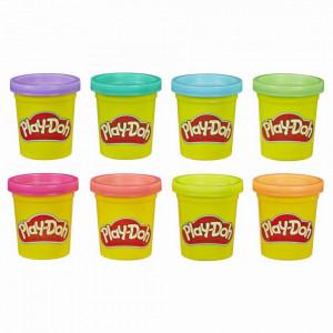 Play Doh Set 8 Rezerve Colorate