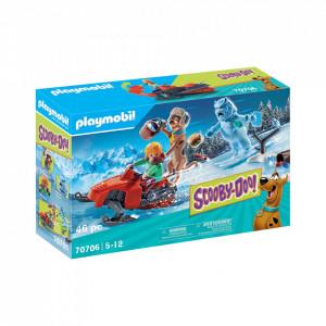 Playmobil Scooby-Doo! Aventuri Cu Fantoma Zapezii