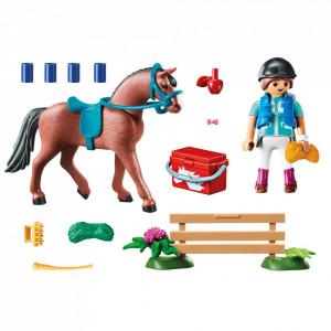 Playmobil Set Cadou Fetita Si Cal