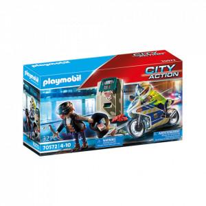Playmobil Urmarirea Hotului De Banci