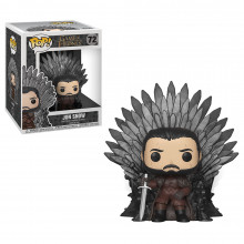 Pop Deluxe: Got S10 - Jon Snow On Iron Throne