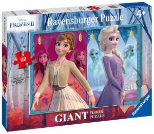 Puzzle Frozen 2 Elsa si Anna, 60 Piese