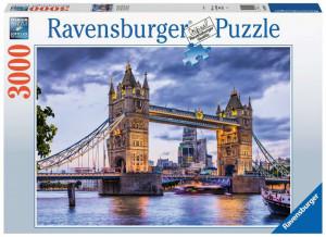 Puzzle Priveliste Pod Londra, 3000 Piese