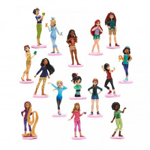 Set 15 Figurine Deluxe Printesele Disney - Ralph rupe Netu'