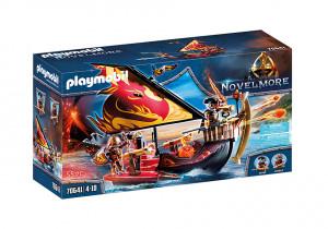 Set de joaca Playmobil Banditi Burnham Si Nava De Foc