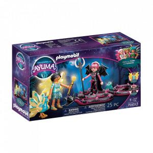Set de joaca Playmobil Crystal Fairy Si Bat Fairy Cu Animalul De Suflet
