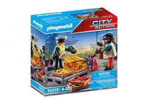 Set de joaca Playmobil Verificarea Vamala