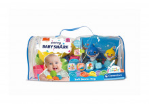 Baby Shark - Plasa Clemmy Cu 22 De Cuburi