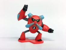 BEN 10 Mini figurina Overflow - 5 cm