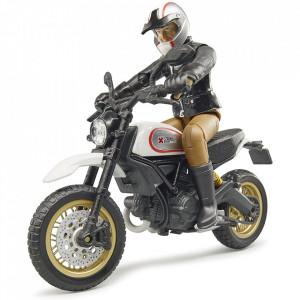 Bruder - Motocicleta Scrambler Ducati Desert Cu Sofer