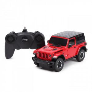 Masina Cu Telecomanda Jeep Wrangler Jl Rosu Scara 1 La 24