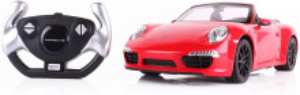 Masina Cu Telecomanda Porsche Carrera S Rosu Cu Scara 1 La 12