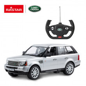 Masina Cu Telecomanda Range Rover Sport Argintiu Cu Scara 1 La 14