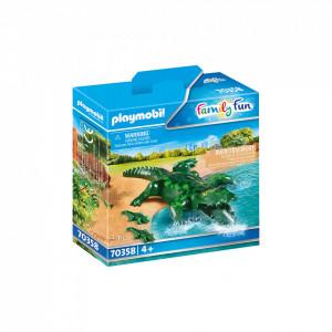 Playmobil Aligator Cu Pui