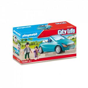 Playmobil Familie Cu Masina